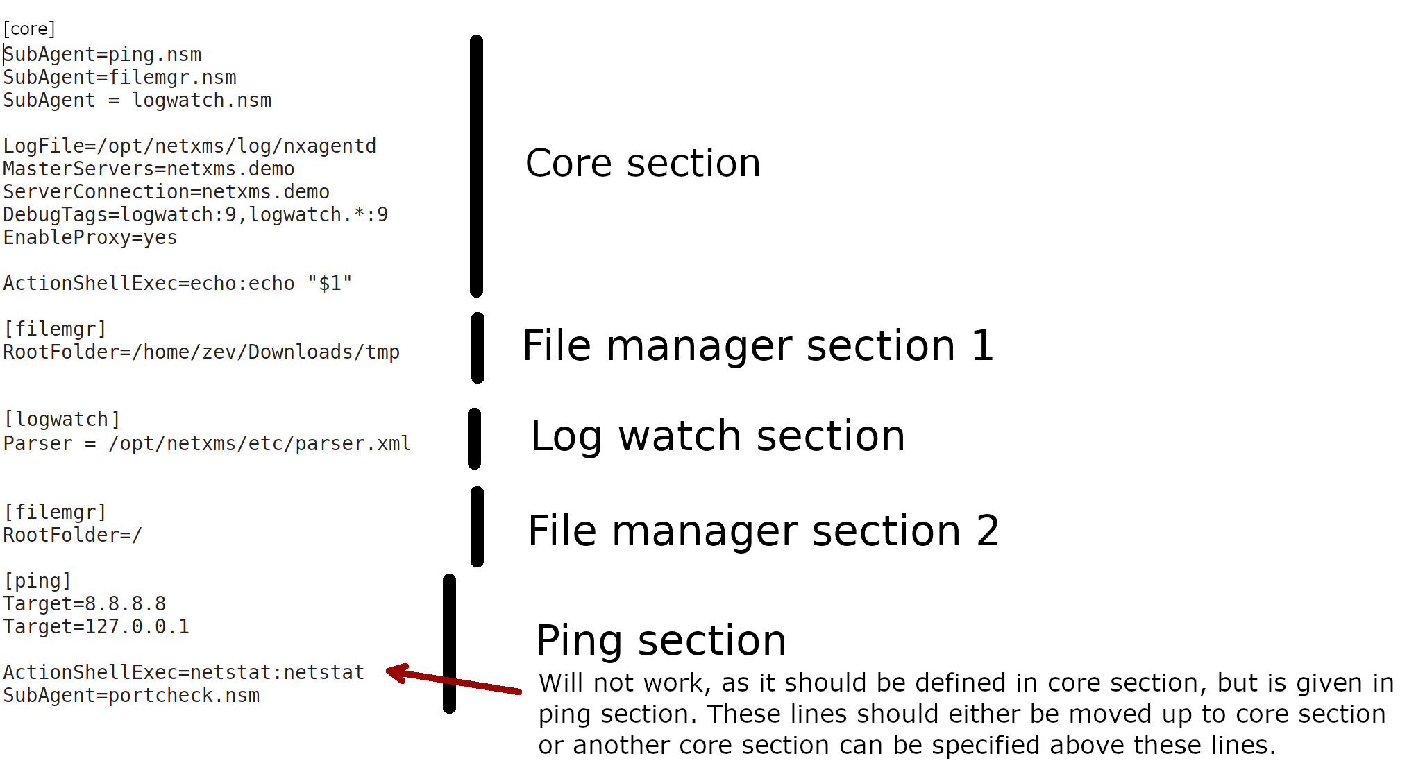 Agent management — NetXMS Administrator Guide (2 2 11)